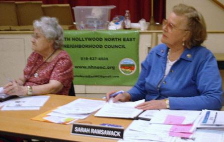 Florence Dorick and Sarah Ramsawack