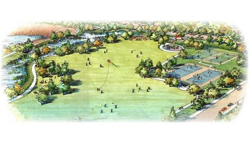 Rendering of Rory Shaw Park