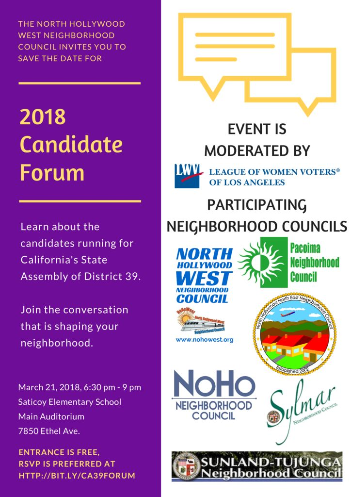 thumbnail of Poster – 2018 Candidate Forum