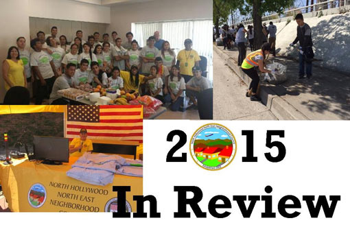 2015 year in review collage