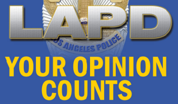 LAPD Your Opinion Counts