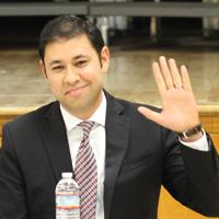 Candidate Antonio Sanchez