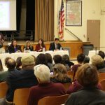 Candidate Forum in progress