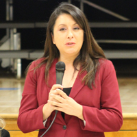 Candidate Luz Maria Rivas
