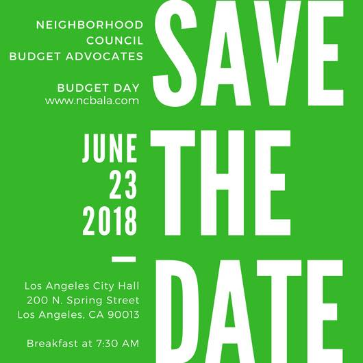 Budget Day Save the Date