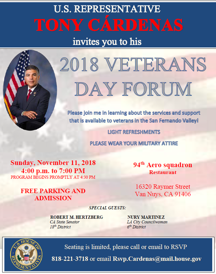 Veterans Day Forum