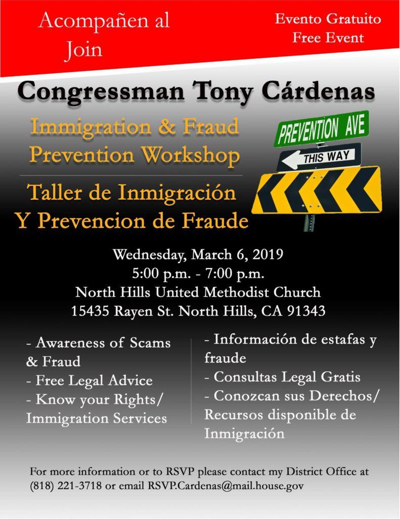 thumbnail of Immigration Workshop flier 2019