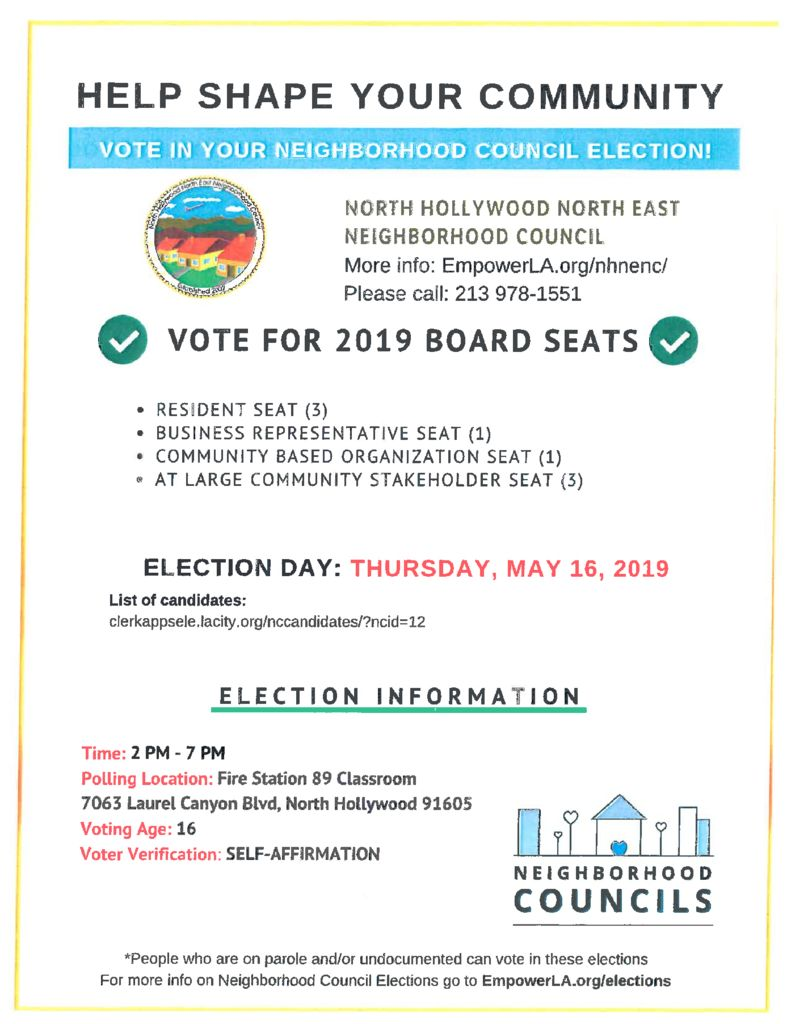 thumbnail of NHNENC Election Flyer