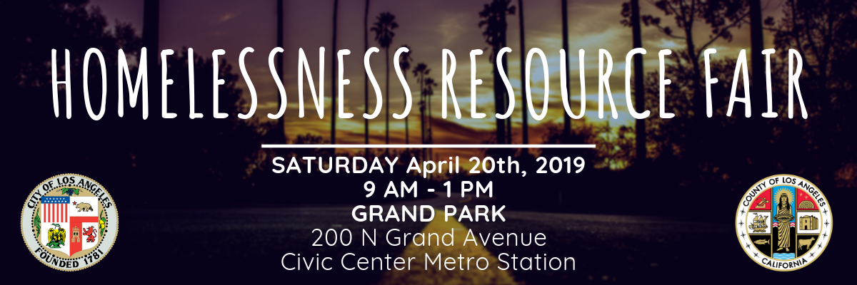 Homelessness Resources Fair