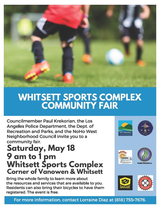 Whitsett Sports Complex Community Fair