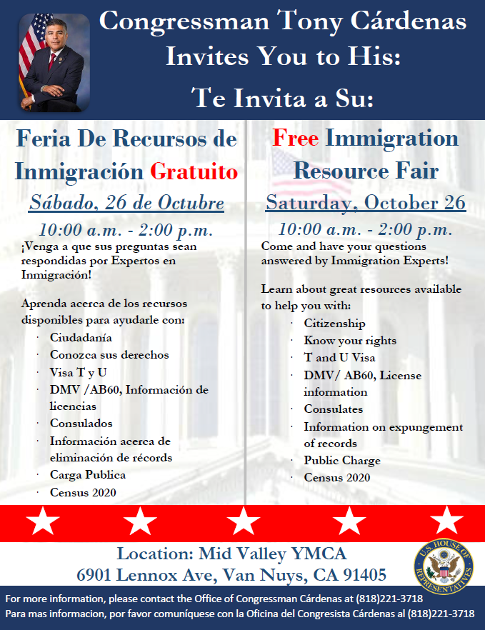 Immigration Resource fair