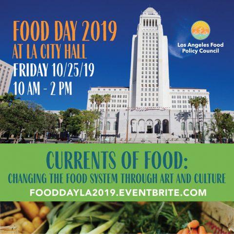 Food Day at City Hall