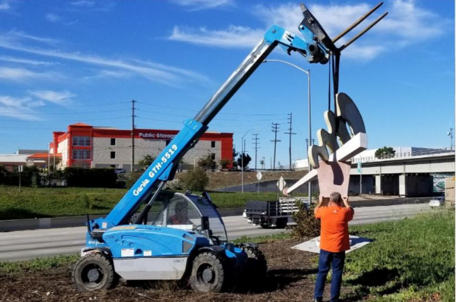 Sculpture removal