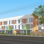 Permanent Supportive Housing Rendering for 11604 Vanowen