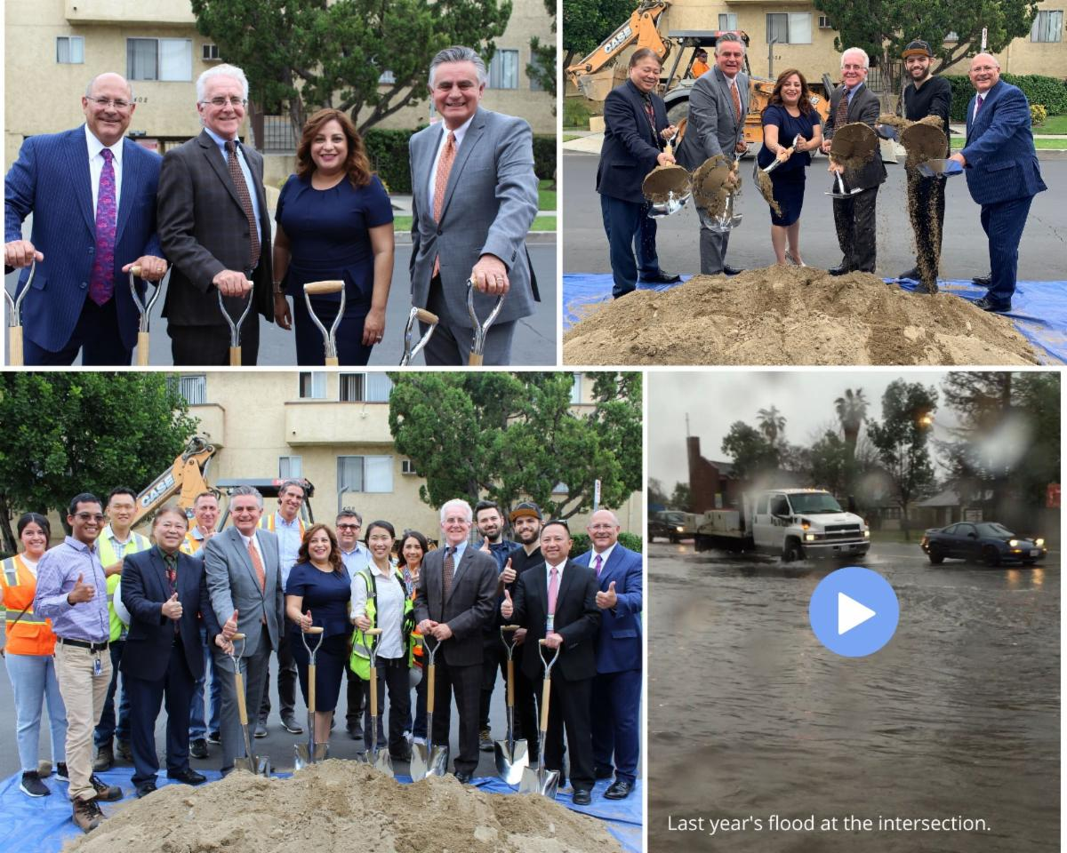 stormwater groundbreaking composite