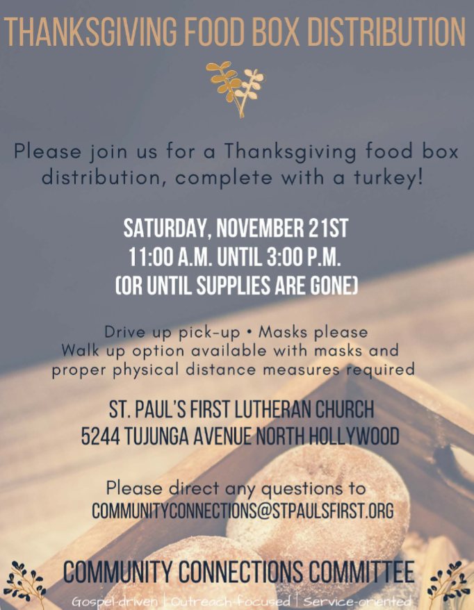 Thanksgiving food box