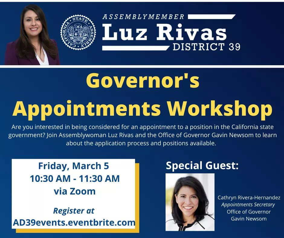 Governor's Appointment Workshop