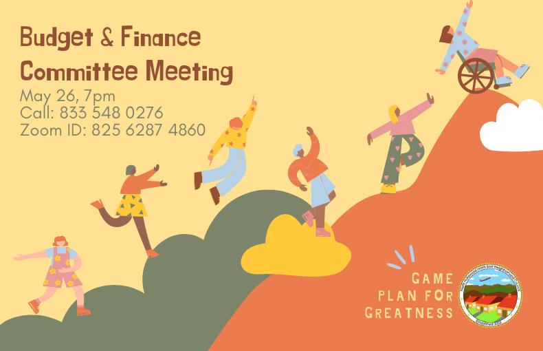 Budget & Finance Committee Meeting