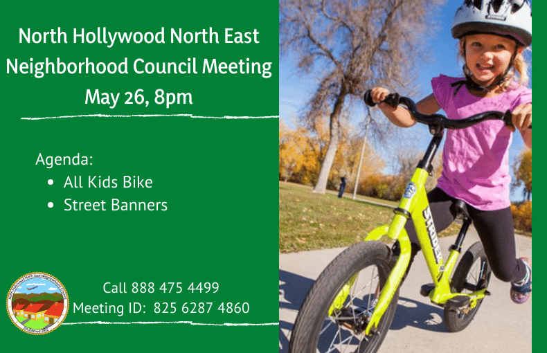 Meeting notice about all kids bike