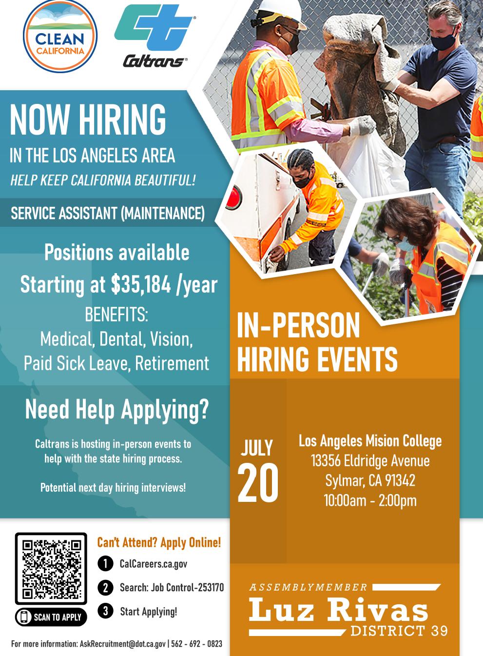 Caltrans Hiring Fair