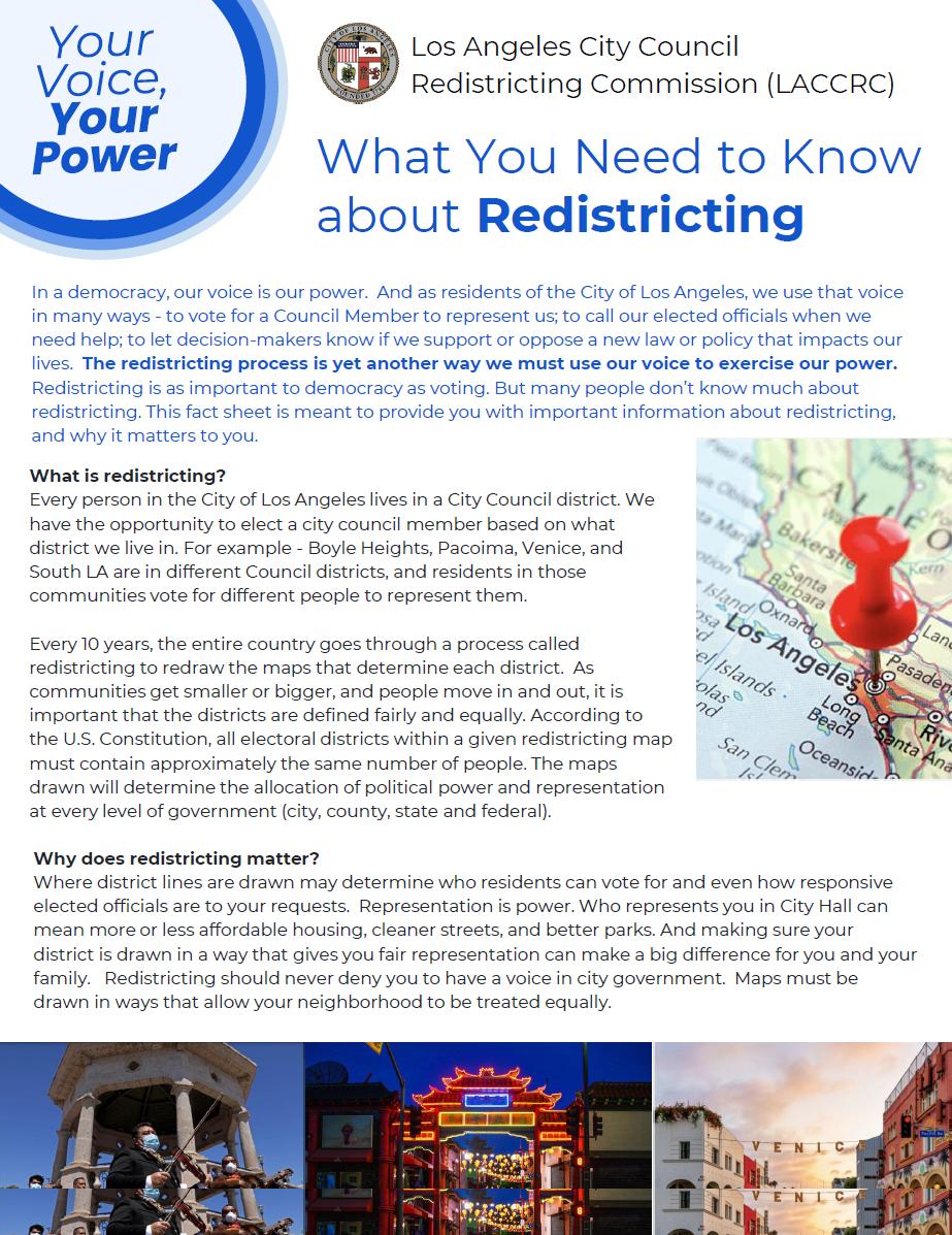 Redistricting Public Hearing CD2