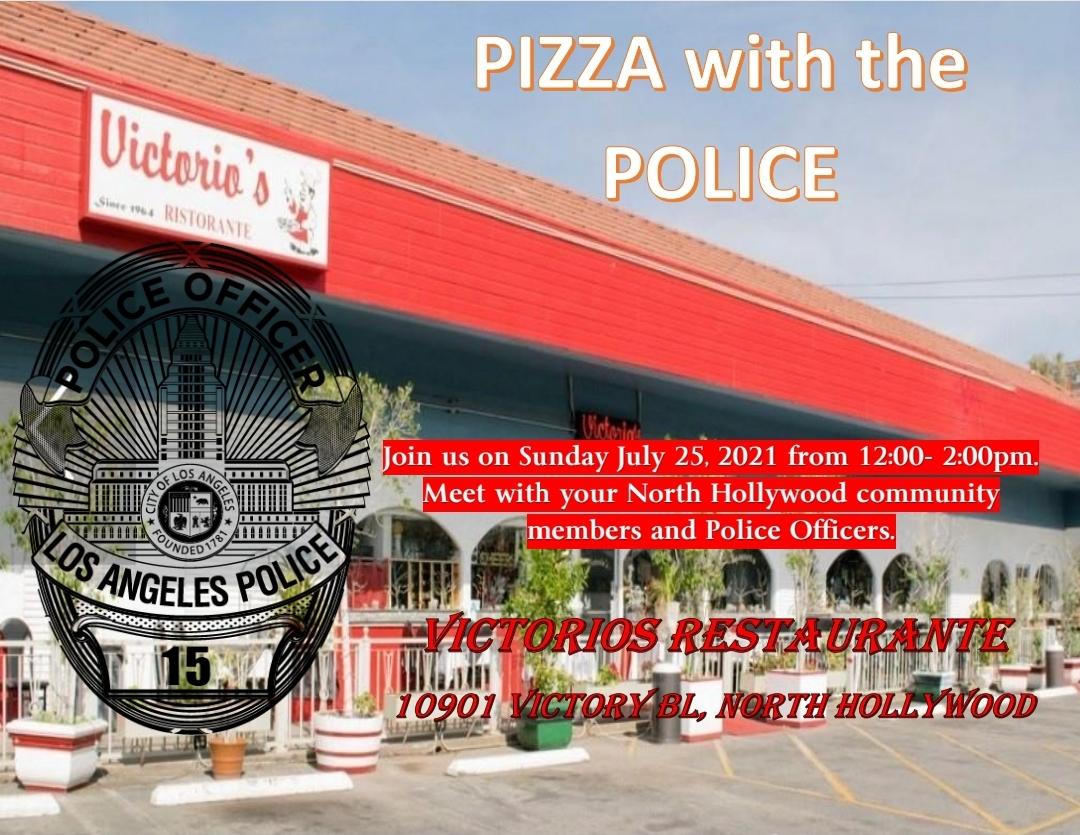 LAPD Pizza