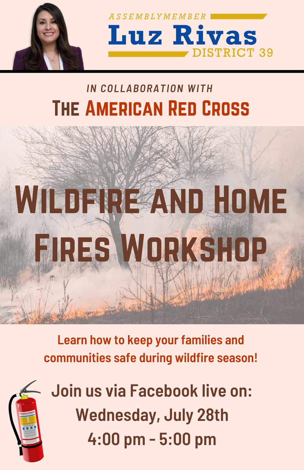 Wildfire and Home Fire Safety Workshop