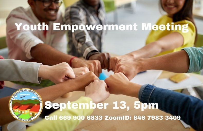 Youth Empowerment Meeting Sep